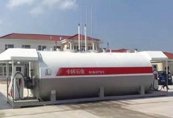 撬装加油站-35m³双平台