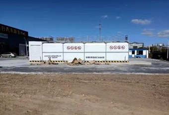 撬装加油站-25m³双平台
