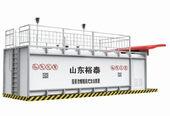 35m³箱式阻隔防爆撬装式加油装置