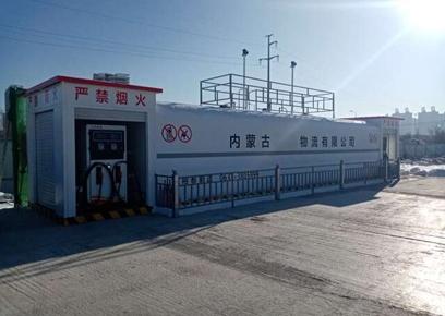 企业自用撬装式加油装置