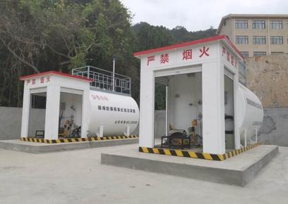 两台并用撬装加油站应用案例