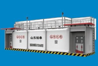 撬装加油站-50m³单平台