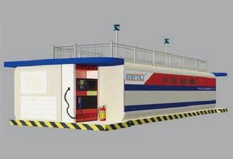 撬装加油站-40m³双平台