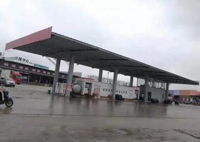 某加油站使用撬装式加油站案例